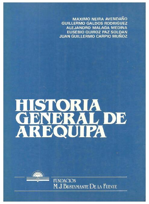 Historia general de Arequipa